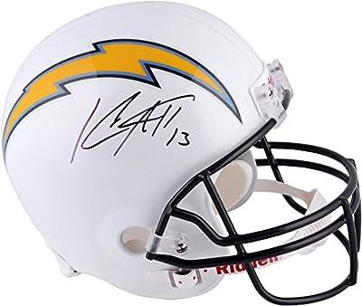 Keenan Allen San Diego Chargers Autographed Riddell Replica Helmet - Fanatics Authentic Certified - Autographed NFL Helmets