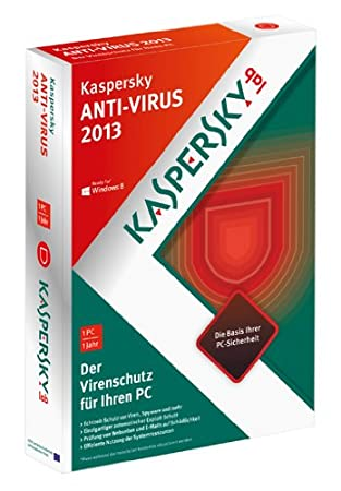 Kaspersky Anti Virus 2013 (Minibox)