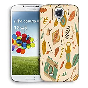 Snoogg Traveller Pattern Designer Protective Back Case Cover For Samsung Galaxy S4