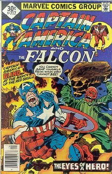 Captain America And The Falcon #212 (The Face Of A Hero! Yours!!) (Captain America 212 compare prices)