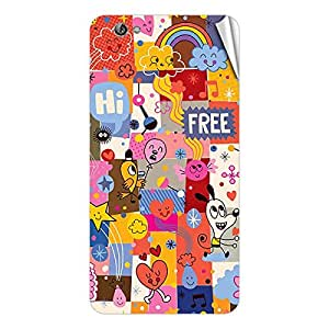 Garmor Designer Mobile Skin Sticker For Gionee Gpad G2 - Mobile Sticker