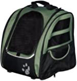 Pet Gear I-Go2 Traveler Roller Backpack for Cats and Dogs up to 20-Pounds, Sage
