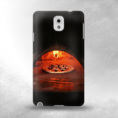 Pizza In Oven - Samsung Galaxy Note 3 Back Cover Case - Full Wrap Design