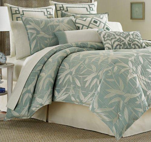 Tommy Bahama Bamboo Breeze Queen Comforter Set Queen Sea Mist front-836274