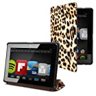 Kindle Fire HDX 7 Smart Case Cover - LEOPARD