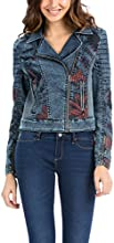 Desigual Women's Denim Jacket Long sleeve Jacket