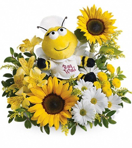 Teleflora's Bee Well Bouquet – Flowers