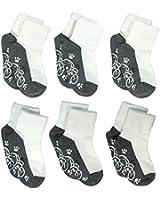 Lucky Lucky 6 Pack Non Skid Socks for Unisex Kids Comfort and Softness Socks