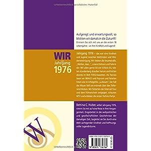 Wir vom Jahrgang 1976 - Kindheit und Jugend (Jahrgangsbände)