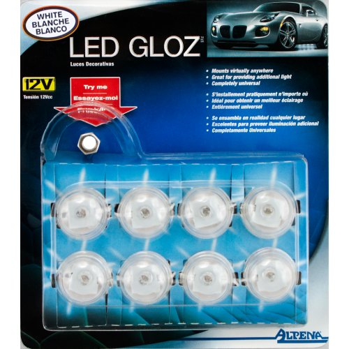 Alpena 360426W White Led Gloz Light