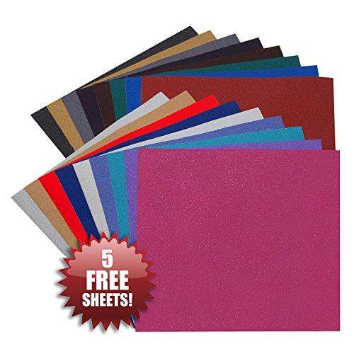 angel-crafts-30-x-30-cm-glitter-vinylfolie-20er-packung-beste-dauerhaft-selbstklebende-vinyl-bogen-f
