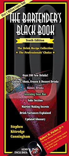 The Bartender's Black Book 10th Edition PDF