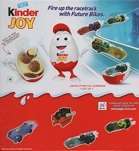 3 Boxes (9 Eggs) Surprise Chocolate JOY for BOY with Hot Wheels Inside