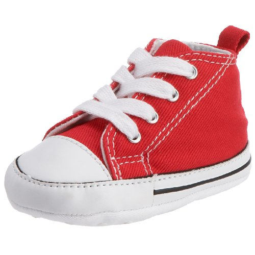 Converse First Star 88875, Sneaker, Unisex bambino, Rosso, 18