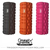 TRIGGER POINT FOAM ROLLER WITH GRID FOR MASSAGE YOGA PILATES REHAB CROSSFIT THERAPY PRO-TONE® ROLLER BY BODYCORE FITNESS®