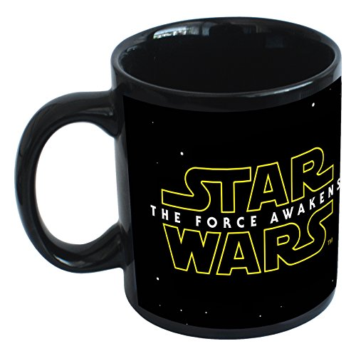 Joy Toy Kylo Ren Tazza E Star Wars Vii Logo In Confezione Regalo, Ceramica, Multicolore, 9X12X10 Cm