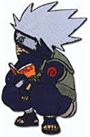 Naruto: Chibi Kakashi Reading Book Anime Patch