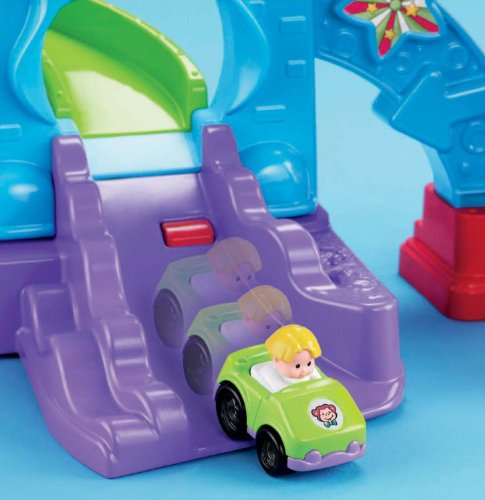 Fisher-Price Little People Loops 'n Swoops Amusement Park [Amazon Exclusive] Toys Games Toys ...