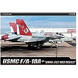 [Academy] Plastic Model Kit 1/72 F/A 18A+ USMC VMFA-232 RED DEVILS (#12520) /item# G4W8B-48Q48167