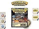 SMOKE IT ALL BBQ Räucherspäne Räuchermischung mit Gewürzen - WATTENMEER