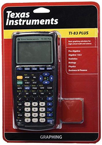 Texas Instruments TI-83 Plus Graphing Calculator (Math Calculator Ti 83 compare prices)