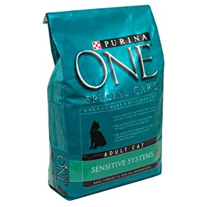 Purina ONE Sensitive Systems Cat Food, Adult 3.5 Lb.