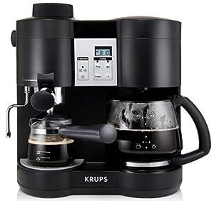 krups xp1600 coffee maker and espresso machine. Black Bedroom Furniture Sets. Home Design Ideas