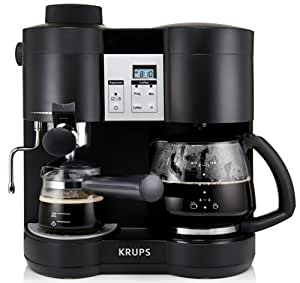 Amazon.com: KRUPS XP1600 Coffee Maker and Espresso Machine ...