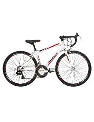 Mizani Boy's Aero 100 Sports Road Bike - White, 24 Inch