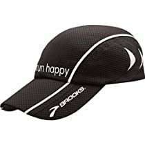 Run Happy Mesh Cap, Color: Black, Size: OSFA