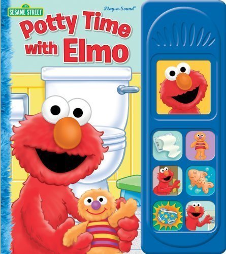 Sesame Street: Potty Time With Elmo (Sound Book) By Editors Of Publications International (Aug 1 2011)