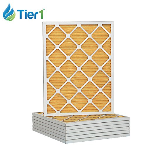 17x22x1 Ultra Allergen Merv 11 Pleated Replacement AC Furnace Air Filter (6 Pack)