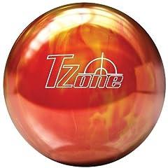 Click here to buy Brunswick TZone Hot Lava Bowling Ball by Brunswick.