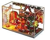 ドールハウス 手作りキットセットミニチュア クリスマスの夜