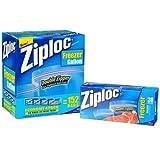 Ziploc Gallon Freezer Bags with Double Zipper 152 bags
