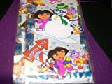 Dora The Explorer And Snowman 12 Treat Bags With Twist Ties 11.5