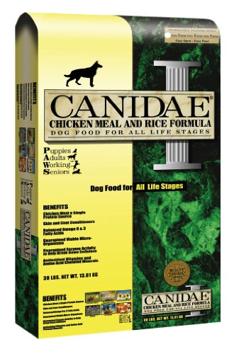 Canidae Dry Dog Food, Chicken Meal and Rice Formula, 30-Pound Bag