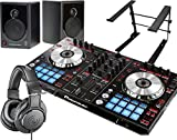 PIONEER DJスタートセット DDJ-SR + XD3 + ATH-M20 + PCスタンド