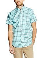 Pedro del Hierro Camisa Hombre (Verde Agua)