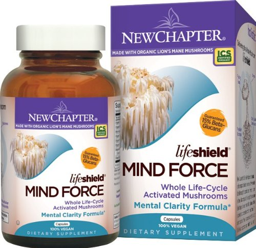 New Chapter Lifeshield Mind Force, 60 Vegetarian