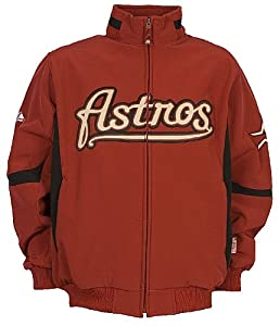 Houston Astros MLB Brick Youth Therma Base Premier Official 08 Dugout Jacket By... by GametimeUSA