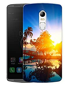 "Beautiful Sunset Printed Designer Mobile Back Cover For ""Lenovo Vibe X3"" (3D, Matte, Premium Quality Snap On Case)"