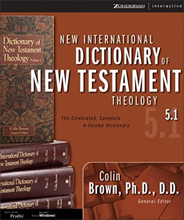 New International Dictionary of New Testament Theology 5.1 for Windows