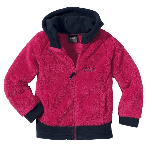 Jack Wolfskin KIDS HOODED HIGHLOFT JACKET orchid