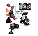 Universal Clipper Car Mount Suction Holder for Bikes Mobile Phones GPS devices