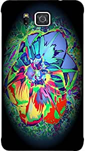 Timpax protective Armor Hard Bumper Back Case Cover. Multicolor printed on 3 Dimensional case with latest & finest graphic design art. Compatible with Galaxy Alpha G850F Design No : TDZ-25883