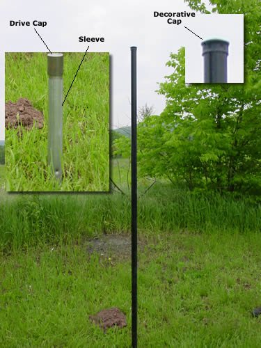 Deer Fence Heavy Duty Deluxe Posts Sleeves And Decorative