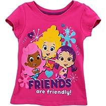 Bubble Guppies Toddler Pink T-Shirt 7B7765 (3T)