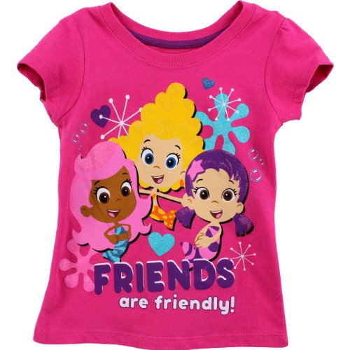 Bubble Guppies Toddler Pink T-Shirt 7B7765 (4T) front-666541