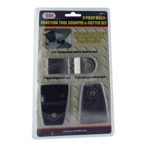 IIT 80372 Multi-Function Tool Scraper & Cutter Set - 3 Piece